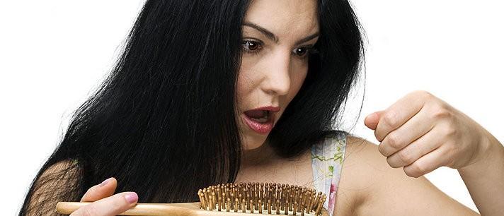 Causas da queda dos cabelos
