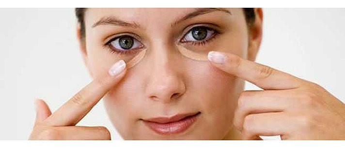Como maquiar as olheiras