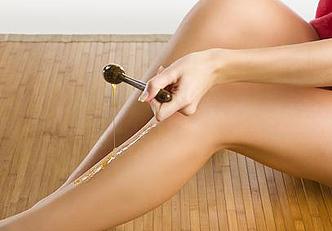 Os benefícios da depilação com cera