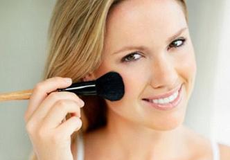 Como maquiar as marcas da acne
