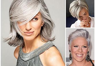 Como esconder os primeiros cabelos brancos