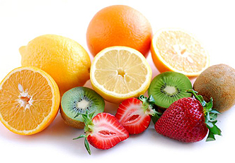 As top 5 frutas com vitamina C