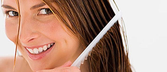 Shampoo para cabelos oleosos de aloe vera e cola de cavalo