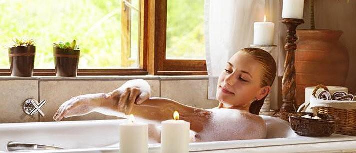 O banho como rotina de beleza