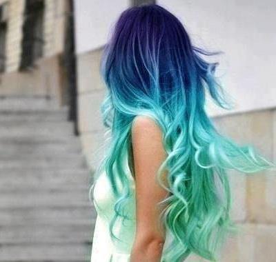 Tintas de cabelo extravagantes