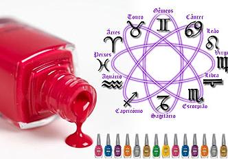 Escolha seu esmalte de acordo com o seu horóscopo