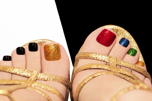 Nail art em seus pés: Sim ou não?