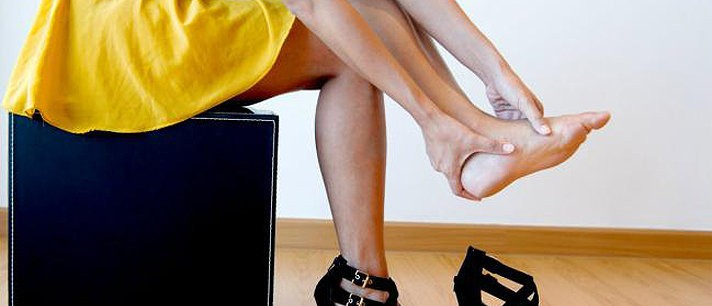 Bálsamo natural para aliviar a dor dos pés