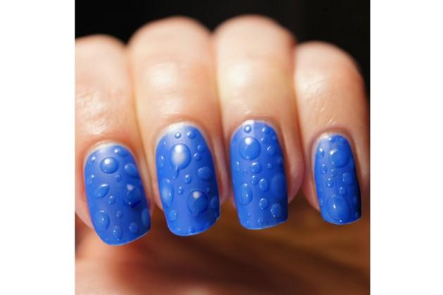 9 nail art com texturas que te impressionam