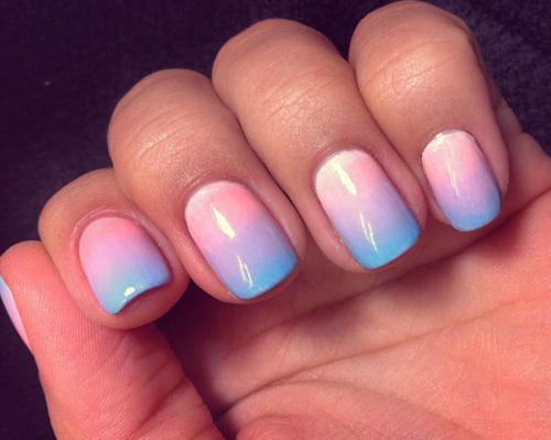 Os melhores nail art em tons pastel