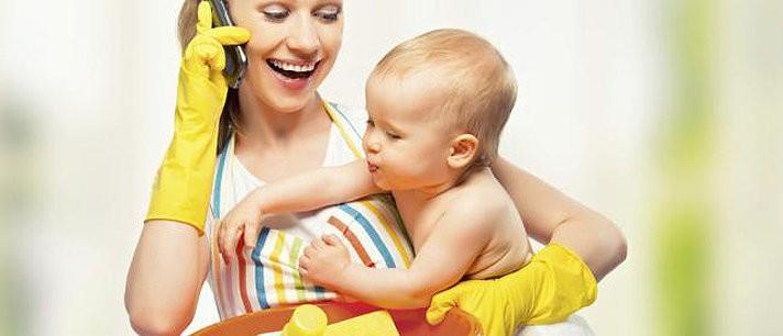 Como fazer as tarefas domésticas com um bebê em casa