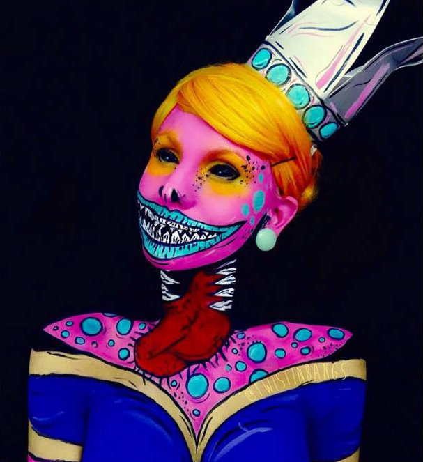 17 maquiagens de Halloween para dar muito medo