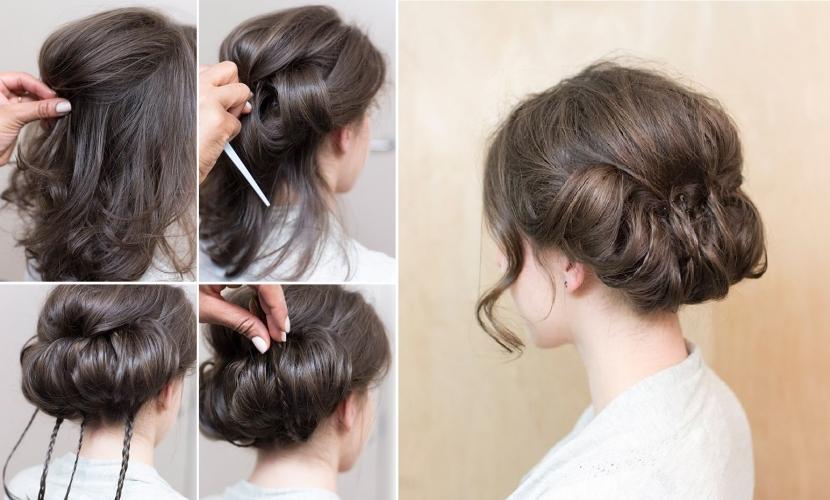 Penteados com volume