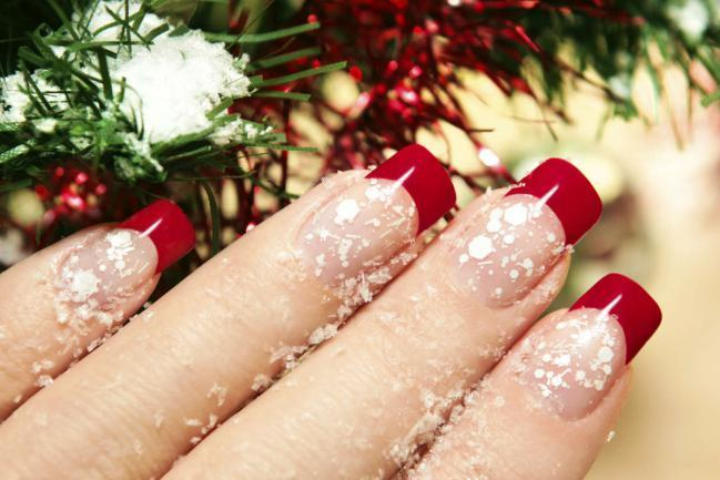 Desenhos de unhas para o natal
