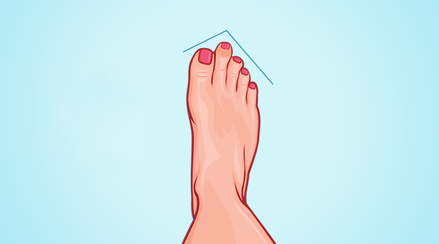 Isso é o que a forma de seus pés revela sobre você