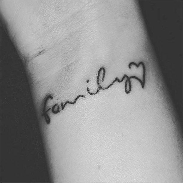 5 tatuagens para celebrar o amor pela família