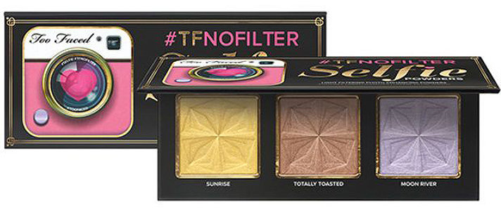 Filtros iluminadores para selfies da Too Faced
