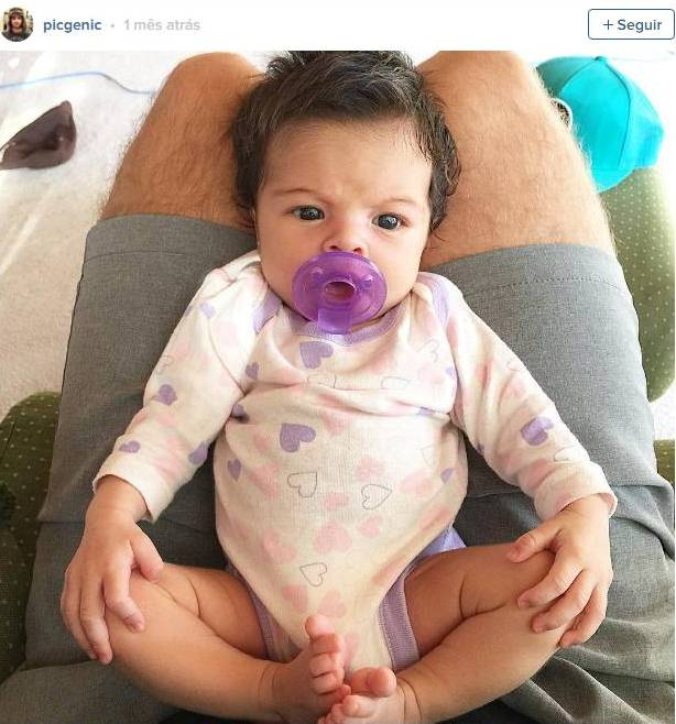 A foto deste bebê é um sucesso nas redes sociais