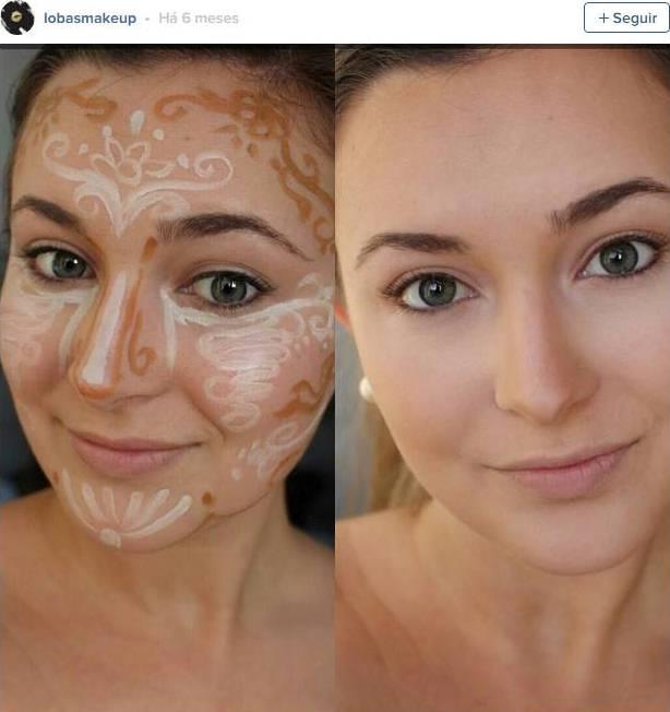"""""""Flower contouring"""", a última tendência de maquiagem!"""
