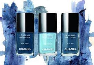Coleção Blue Jeans Nails da Chanel