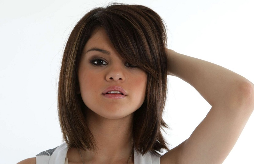 Tendências de cortes de cabelo para rosto redondo