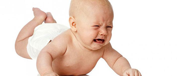 Como acalmar um bebê nervoso