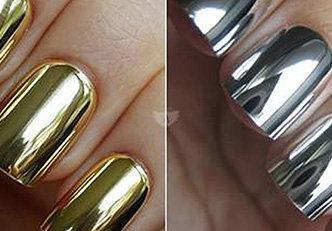 Unhas espelhadas, a grande tendência em manicure 2017!