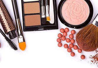 Produtos de maquiagem que podem ser substituídos