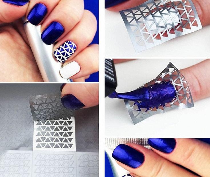 6 desenhos de unhas com acabamento profissional