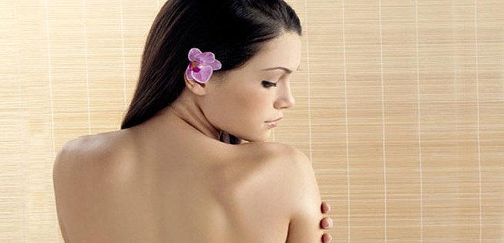 Aprenda como acabar com a acne nas costas