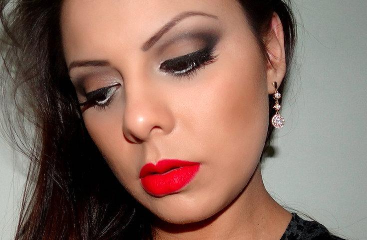 10 fotos de maquiagem para noite