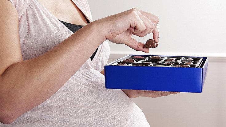 Benefícios de comer chocolate na gravidez