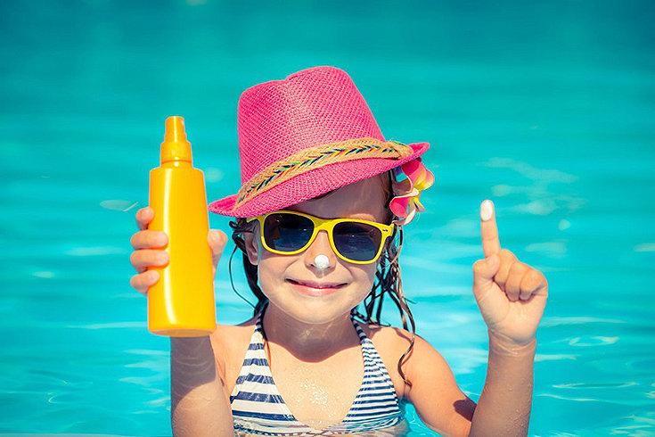 Como proteger as crianças do sol