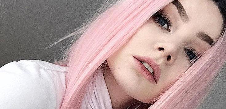 Cabelo rosa tendência e seus cuidados
