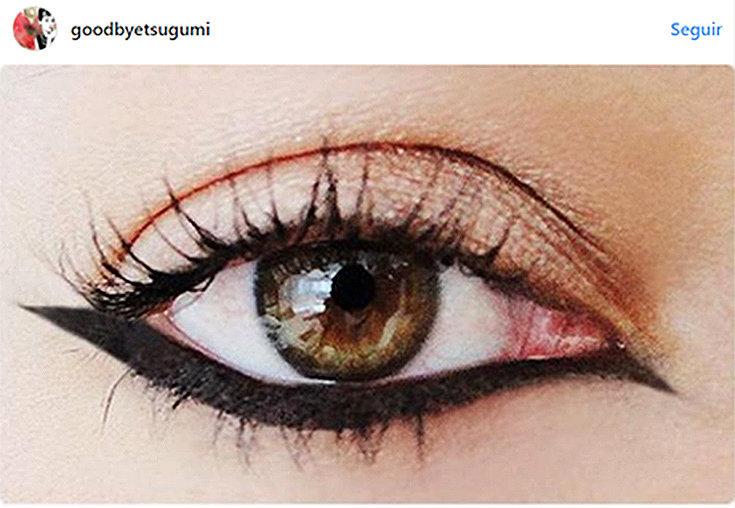 Olho gatinho invertido é a nova tendência!