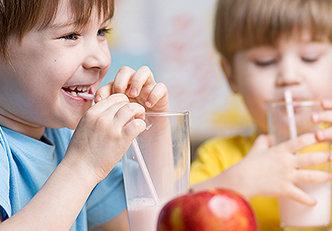 Café da manhã saudável para crianças