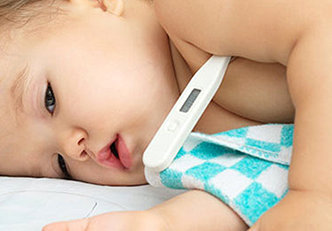 Tudo sobre a febre em bebê