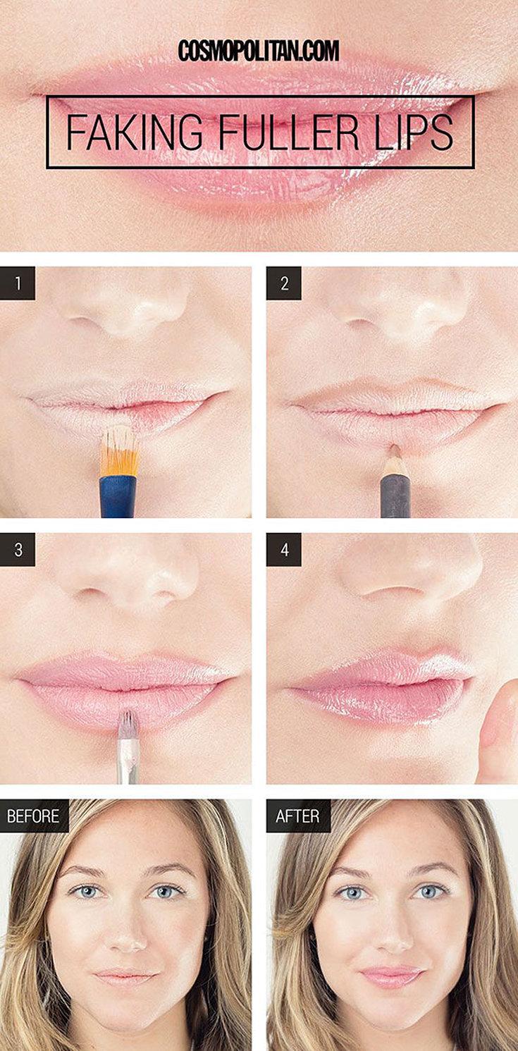 Dicas para ter lábios mais volumosos sem botox!