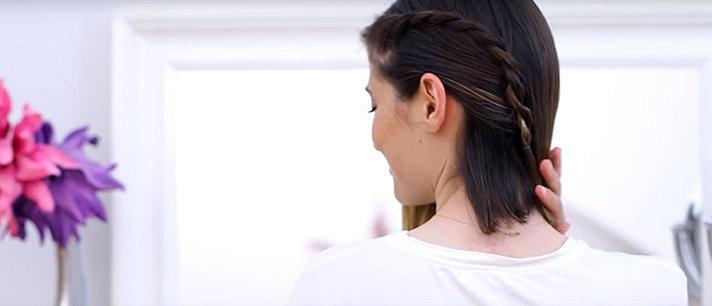 6 penteados para cabelos curtos