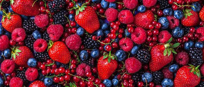 Frutas vermelhas e seus grandes benefícios