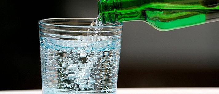 Água com gás, uma bebida benéfica para o organismo!